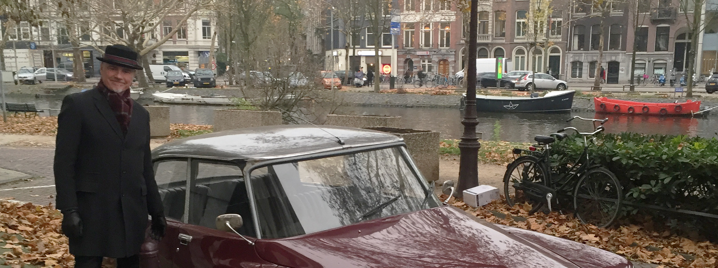 Rompa took me for a drive in Amsterdam