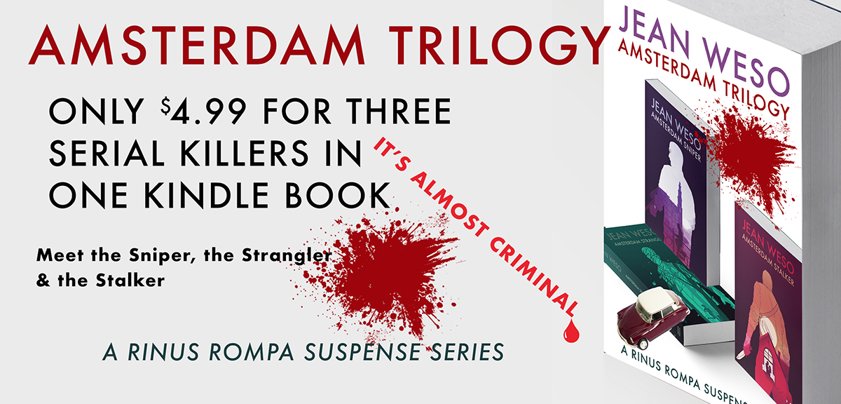 AMSTERDAM TRILOGY — get it today for only $ 4.99